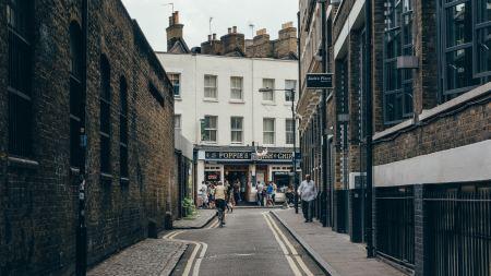 Street view in London