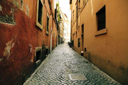 Cubic stone street