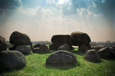 Mystical rock formation