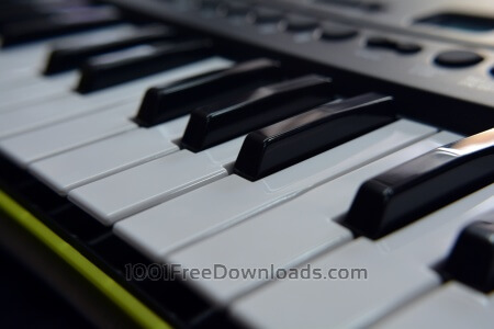 Piano close up