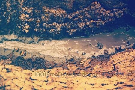 Mud landscape