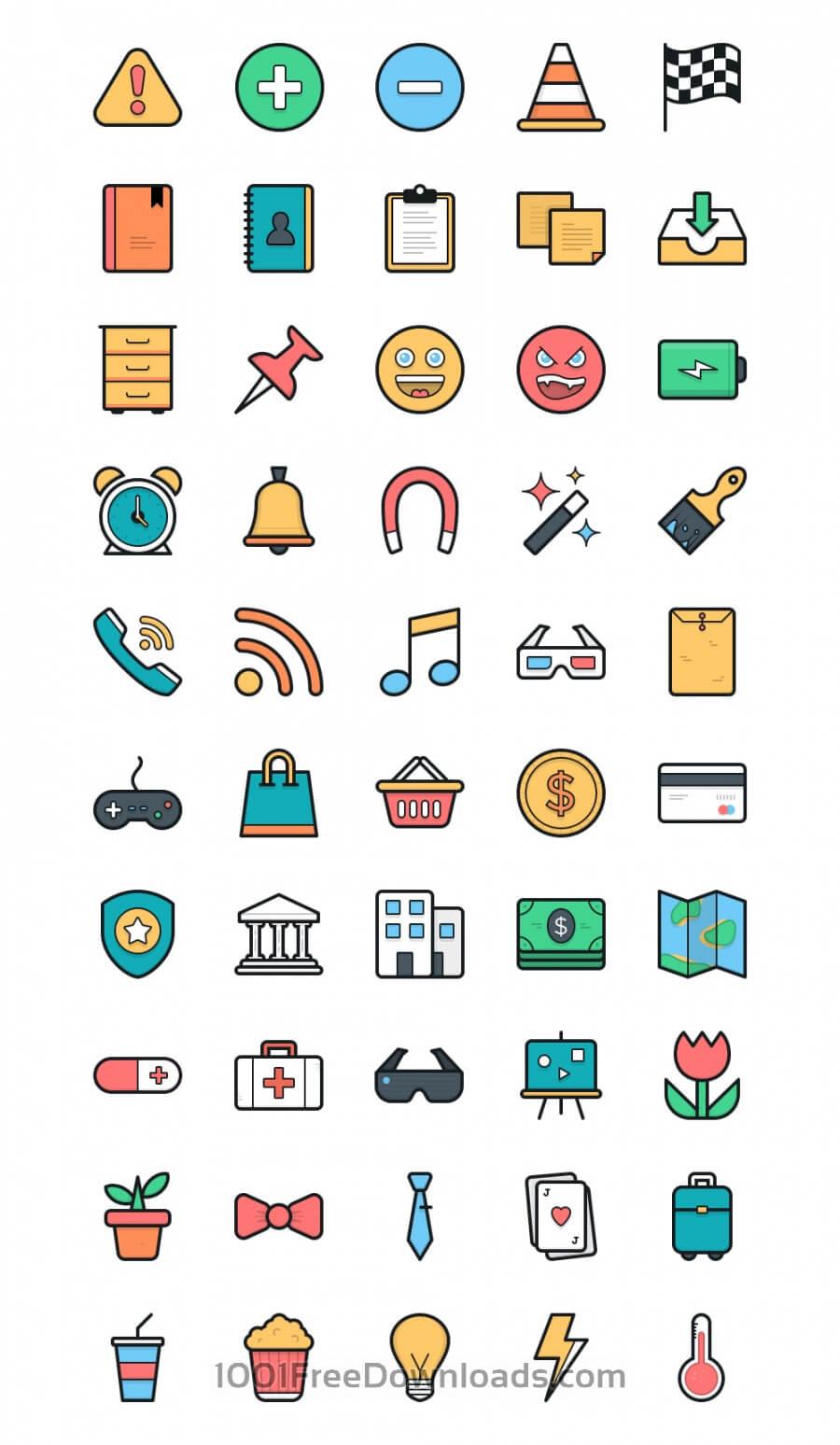 Free Lulu Icon Set