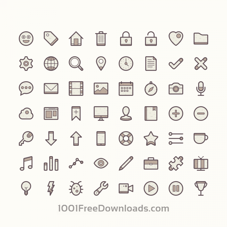 Free Vectors: Barker - Icon Set | Icons