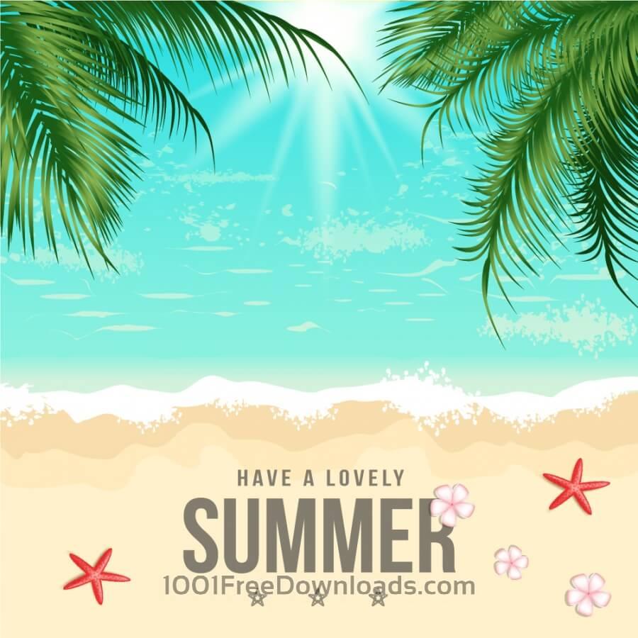 summer vector illustraitons - photo #16