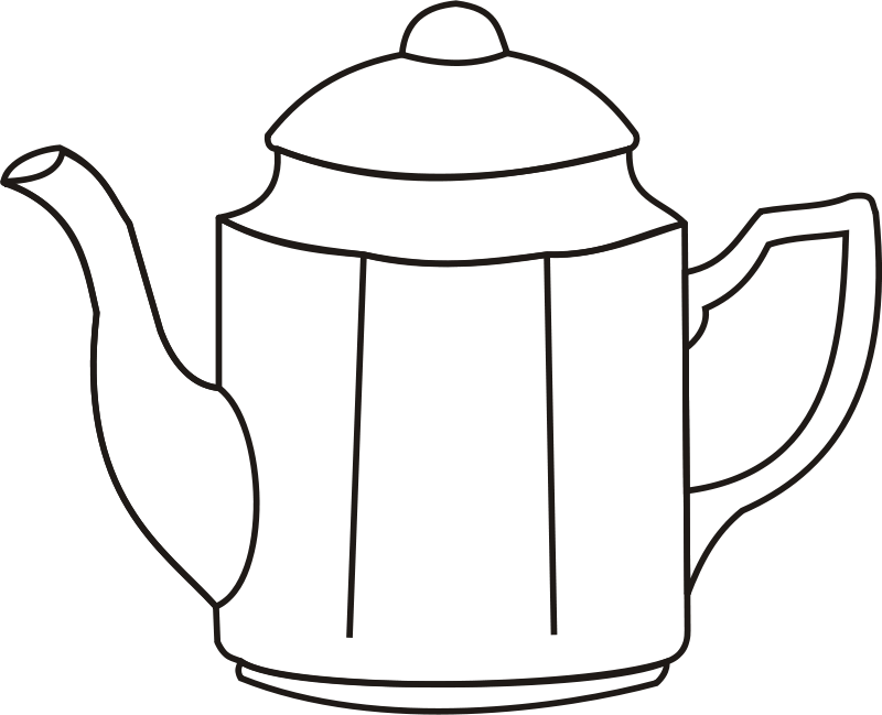 Coffee Pot Drawing Free Clipart Coffee-pot