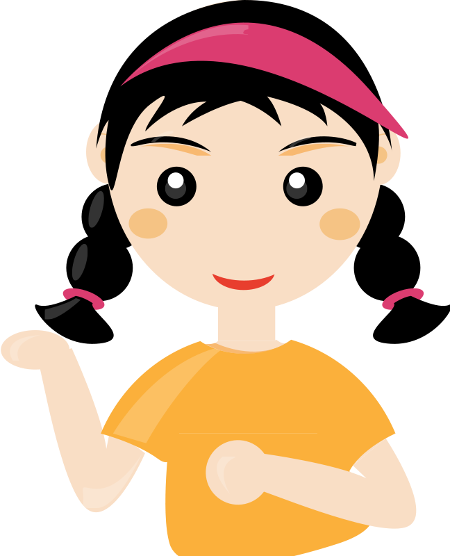 Cute People Clipart Free Clipart Cute Girl2 |