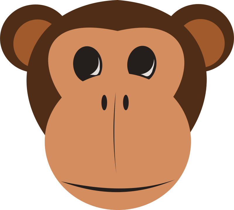 Back > Gallery For > Jungle Animals Faces Clipart