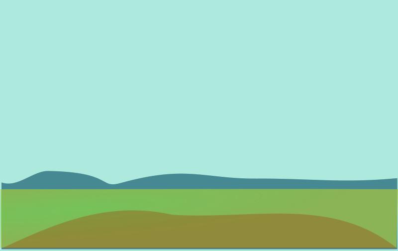Cartoon hills background