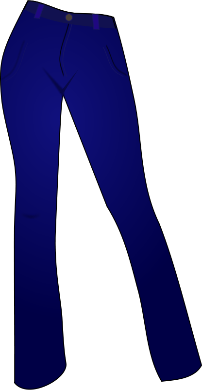 clipart picture of jeans - photo #30