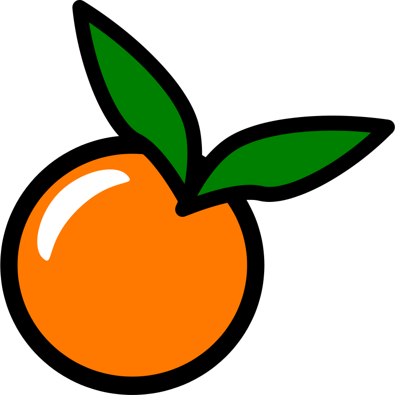 Clip Art Orange Clip Art free clipart orange icon food chovynz