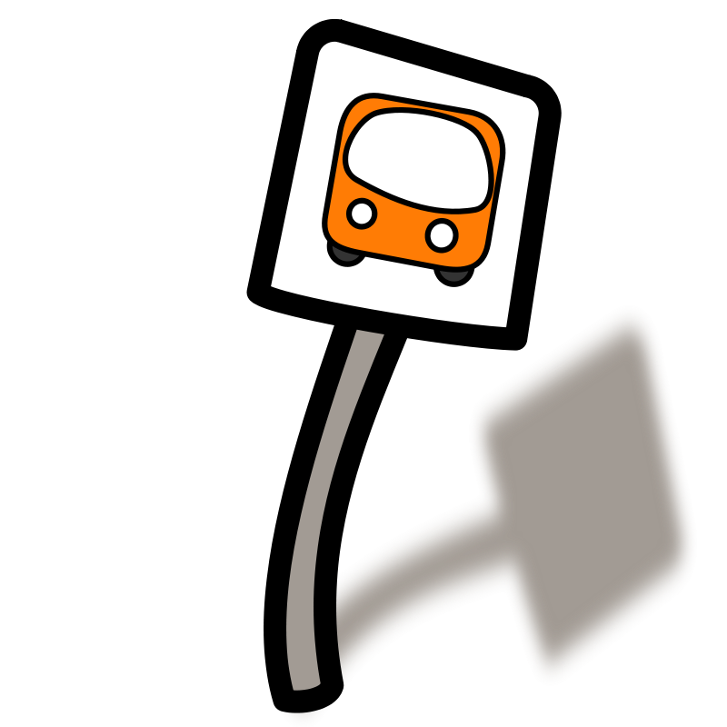 Stop Clipart Png Free Clipart Funny Bus Stop