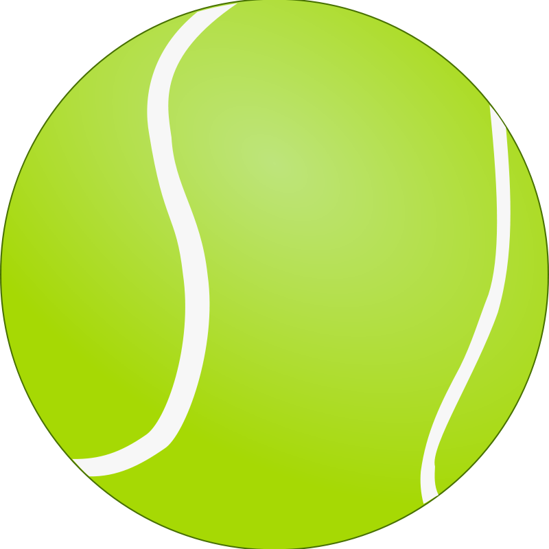 Free Clipart: Tennis Ball - Bola de Tenis | Objects | lunik