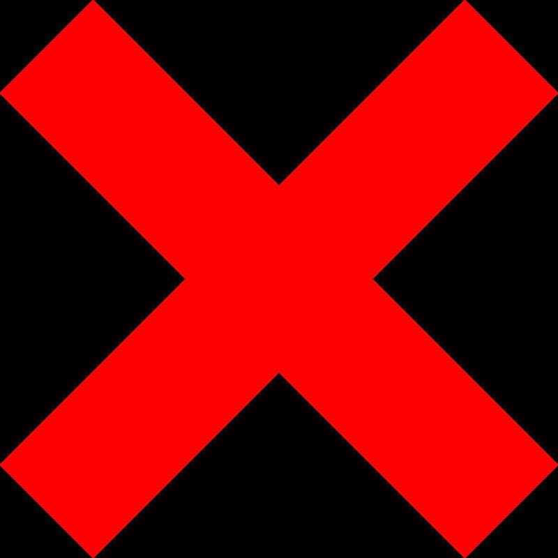 X Icon Free Clipart: X icon |...