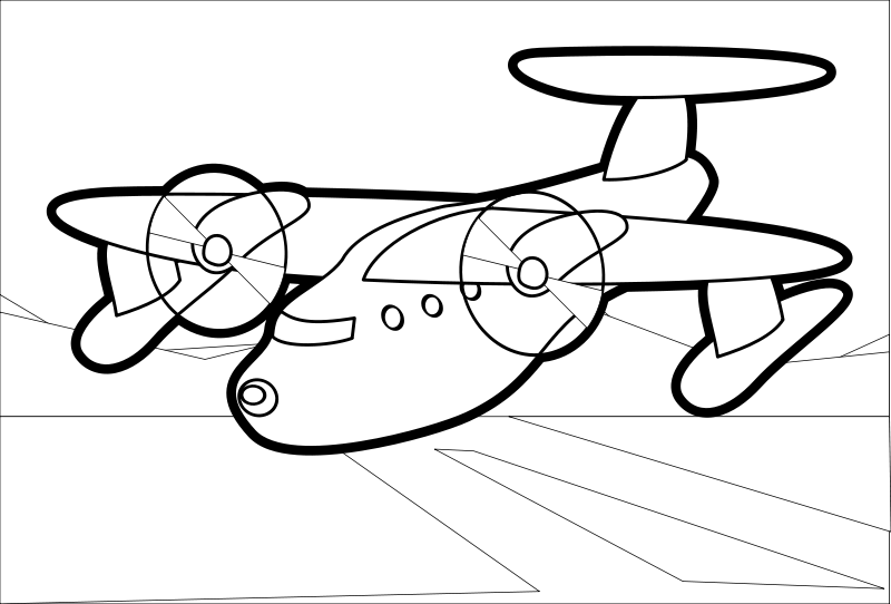 Plane Simple Drawing Free Red Plane Free Simple