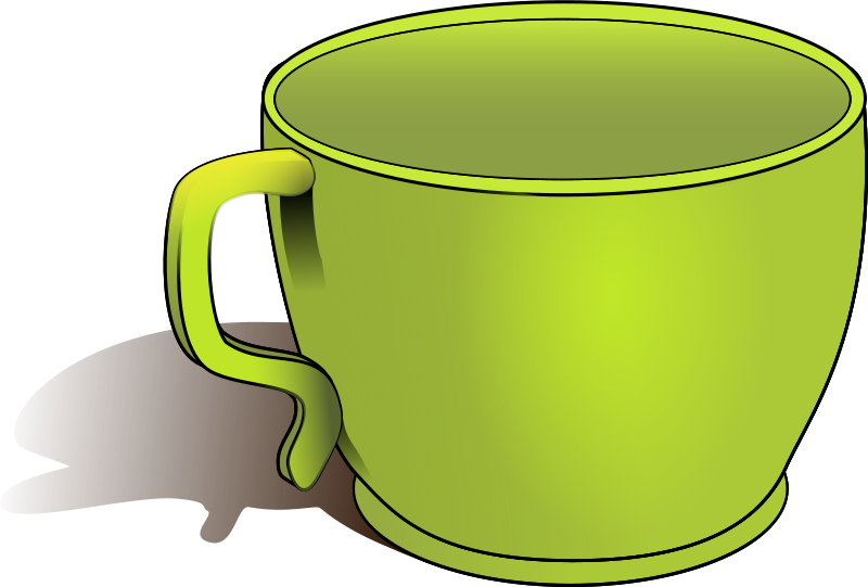 Free clipart cup objects biswajyotim