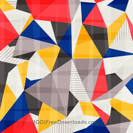 Colorful Abstract Polygons