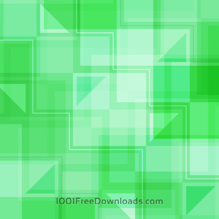 Green Squares and Triangles