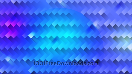 Bright Blue Abstraction