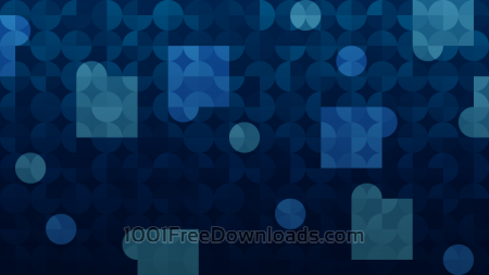 Dark Blue Abstraction