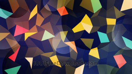 Colorful Polygons with Circles