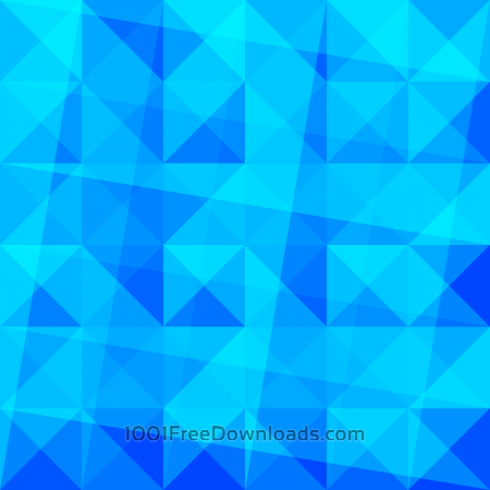 Blue Triangles Pattern