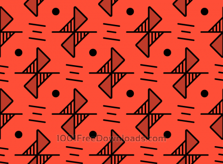 Red Line Pattern