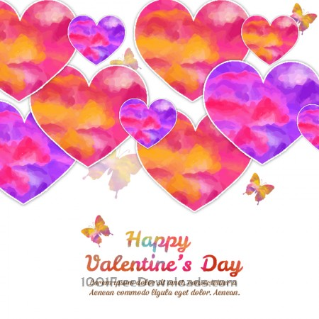 Happy Valentine's Day vector illustration