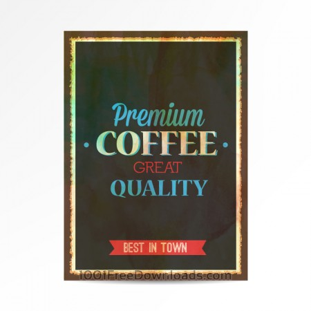 Vintage typography illustration