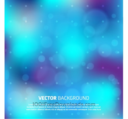 Blurry vector background