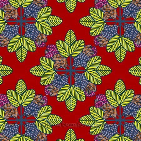 abstract color leaf pattern background