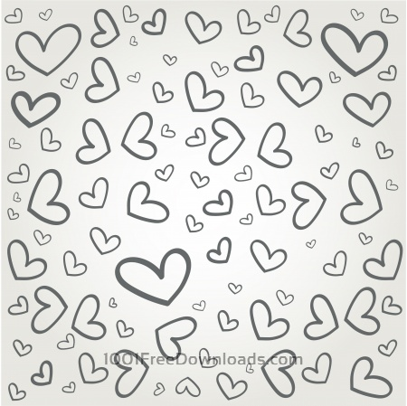 Vector pattern with some text for wedding or birthday