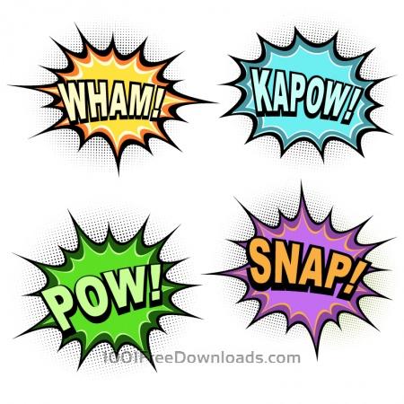 Comic Book Words