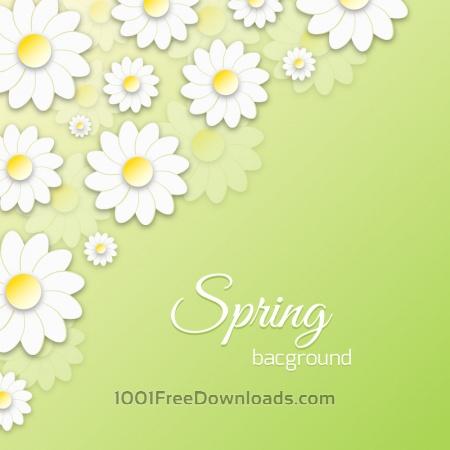 Free Spring Floral 3D Illustration