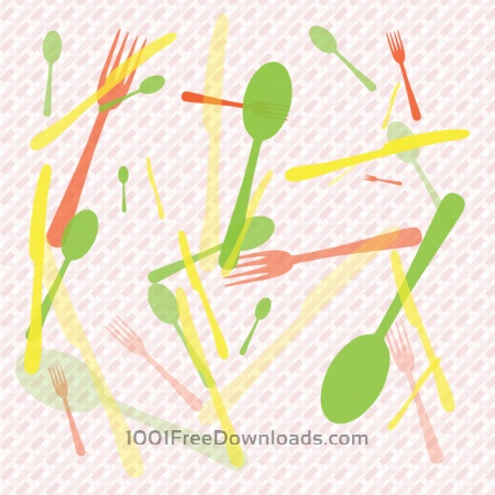 Food Abstract Background