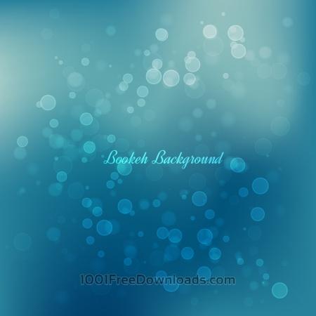Bokeh Vector Background