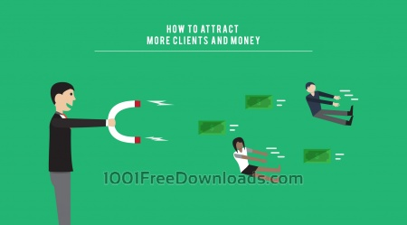 Attract More Clients Illustration