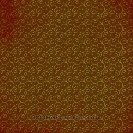 Japanese pattern with swirls