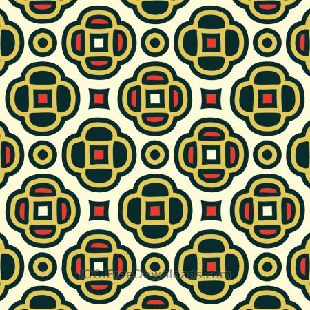Free Floral Decorative Wallpaper Pattern