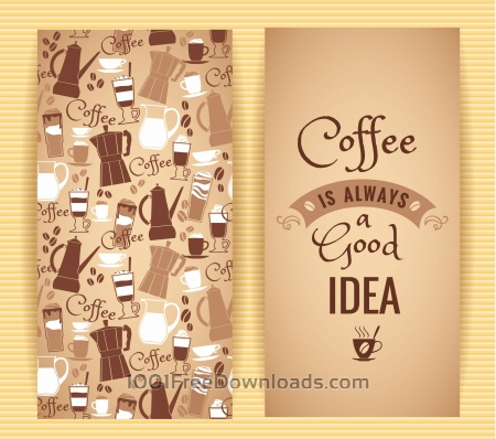 Free Coffee concept design.