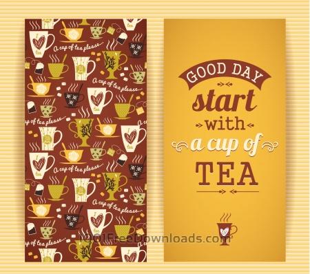 Free Tea concept design.