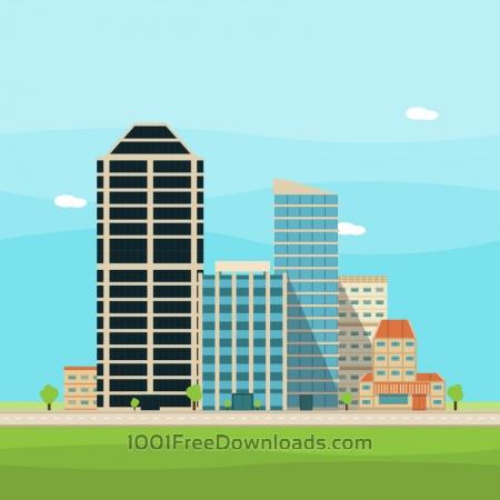 Vector City Illustration