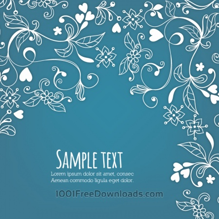 Doodle vector illustration with typography