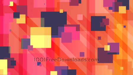 Long Shadow Squares Background