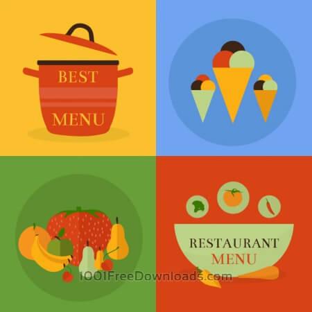 Food icon concept