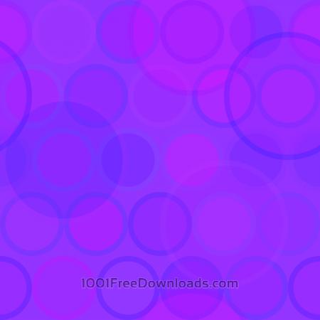 Free Purple Circles Pattern