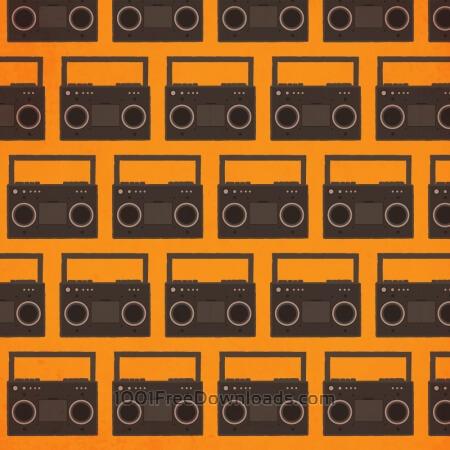 Music pattern with radio