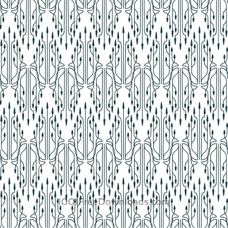 Roaring 1920s thin line style pattern
