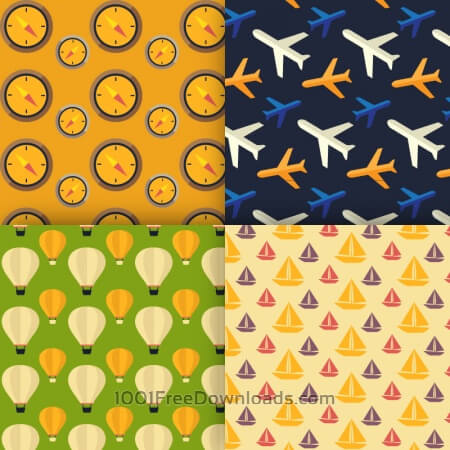 Travel vector patterns