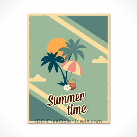 Free Summer poster