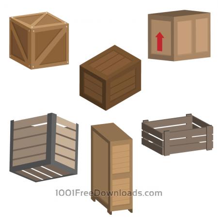Free Crate Vectors